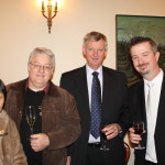 Board Member, Richard Ellem with event guests